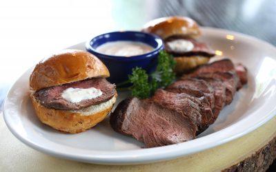 Beef Tenderloin Sliders