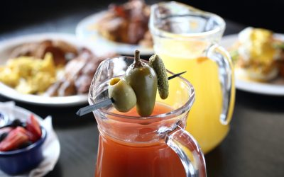 Bloody Mary & Mimosa Pitchers