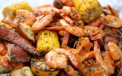 Shrimp, Sausage 'n Potatoes – 3